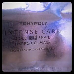 TonyMoly Gold 24K Snail Hydro gel Mask